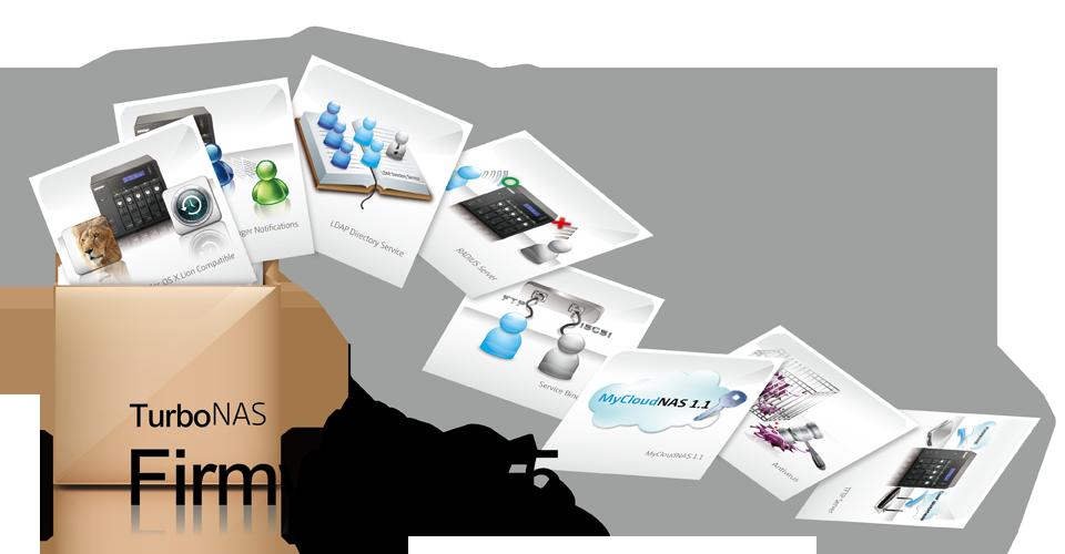 QNAP firmware V3.5 lost OS X Lion probleem op en maakt delen via internet makkelijker