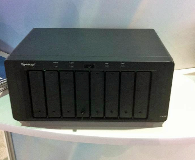 Synology onthult DS1812+ op CES