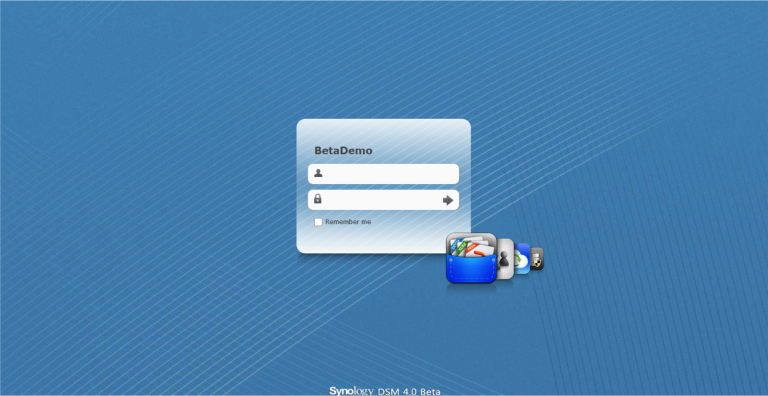 Synology DSM 4.0 preview met screenshots