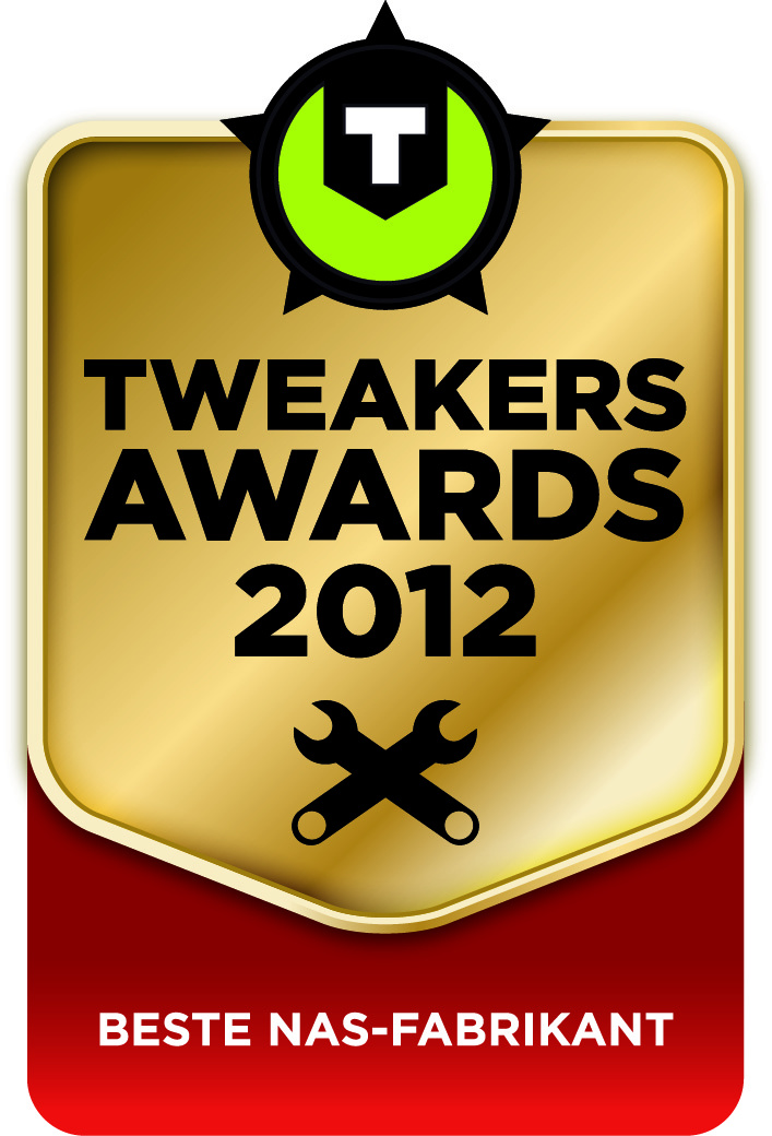 Synology wint Tweakers award voor Beste NAS