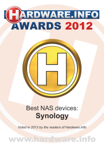 Synology en Dune HD winnen Hardware.info Award