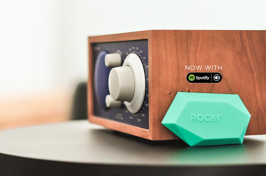 Nu beschikbaar: Spotify Connect op ROCKI