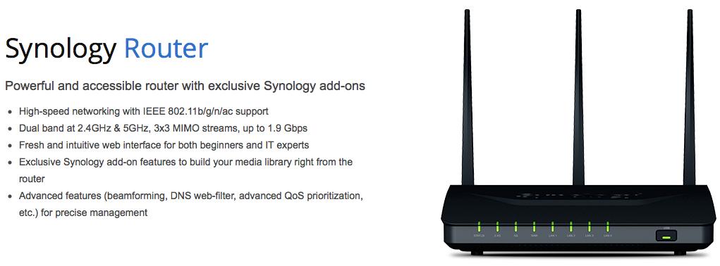 Eerste ervaringen met de Synology RT1900ac router