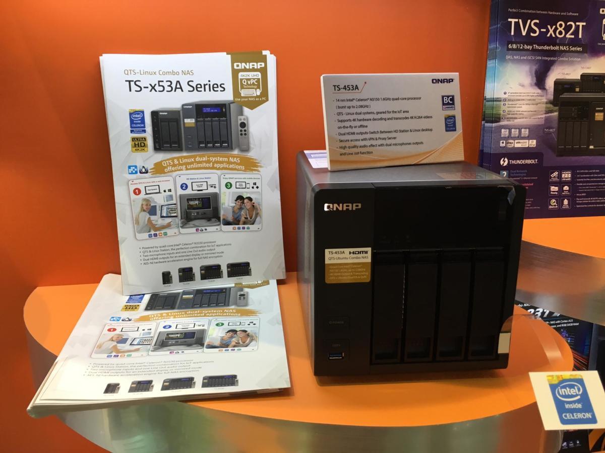 QNAP TS-453A wint COMPUTEX Best Choice Award 2016