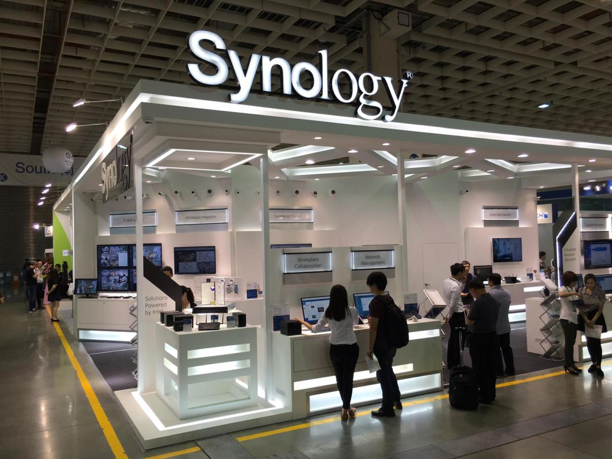 Synology stand Computex 2016