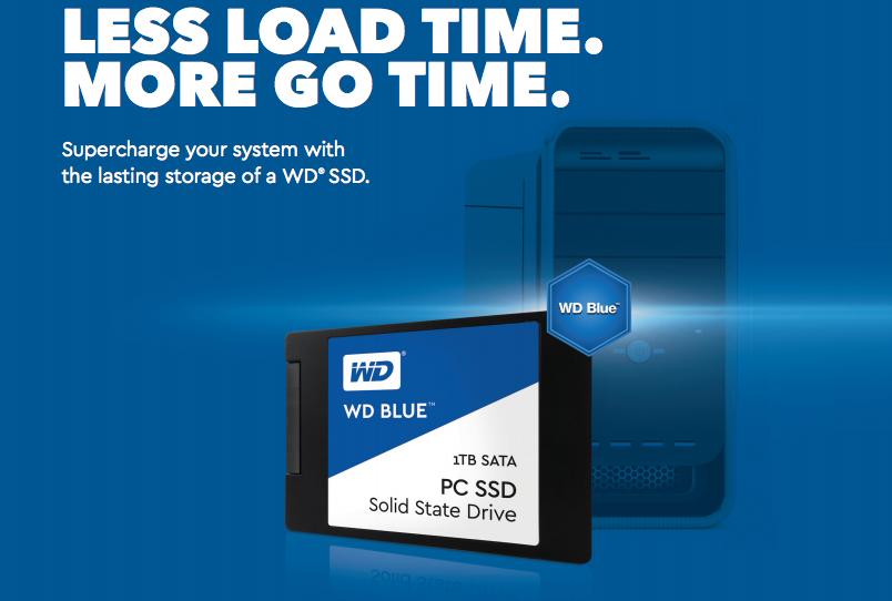 Eindelijk, daar is hij dan, de WD Blue SSD!