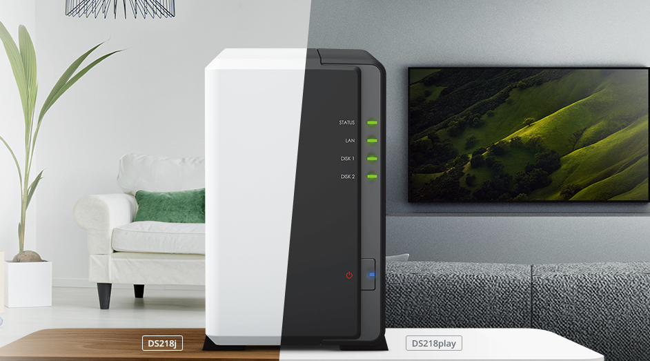 Nieuw: Synology DS218play, DS218j en DS118