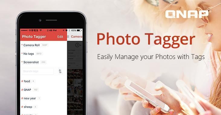 Eenvoudig tags toevoegen aan foto's via Photo Tagger van QNAP