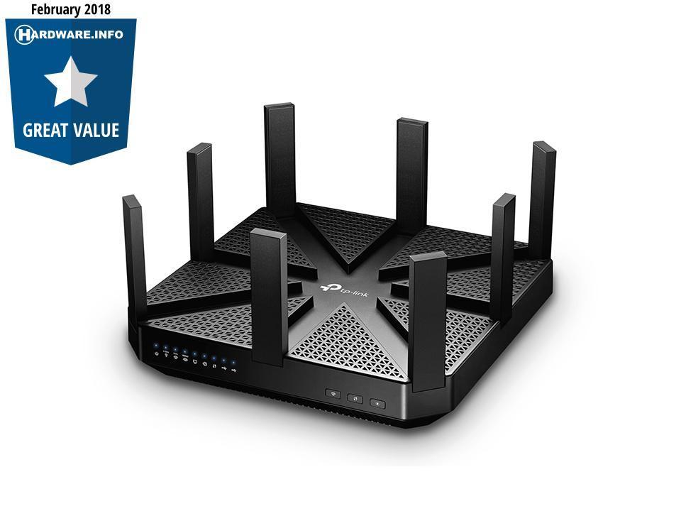 Geef uw WiFi een boost met de krachtige TP-Link Archer C5400 Router!