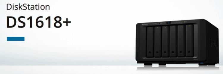 Nieuwe Synology DS1618+, een krachtige 6-bay NAS