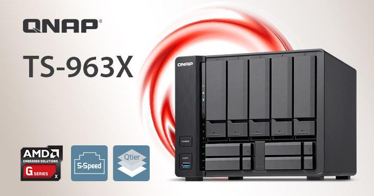QNAP lanceert de TS-963X, een veelzijdige, krachtige en snelle NAS!