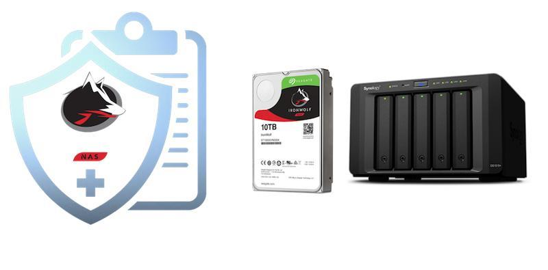 Seagate IronWolf Health Management voor Synology NAS