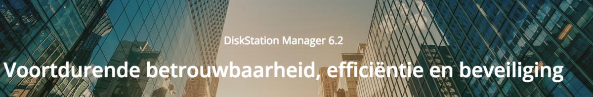 Synology DiskStation Manager 6.2 nu beschikbaar!