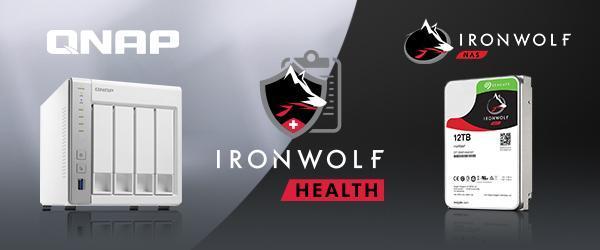 Seagate IronWolf Health Management nu ook beschikbaar voor QNAP NAS-systemen