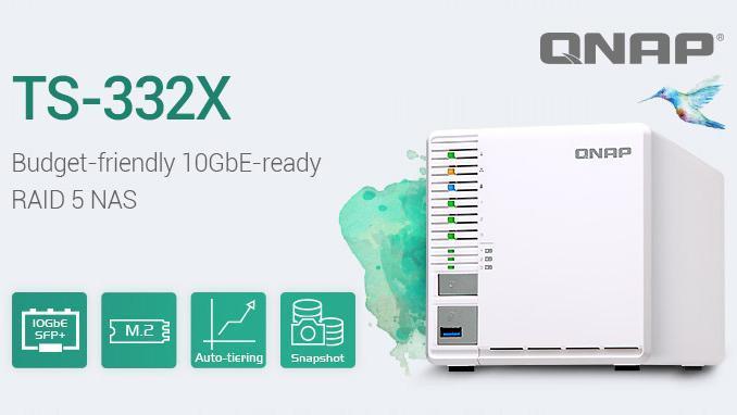 Nieuw, de QNAP TS-332X leverbaar in 2G en 4G!