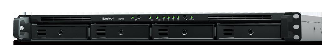Nieuw: Synology RS819, een compacte 4-bay RackStation