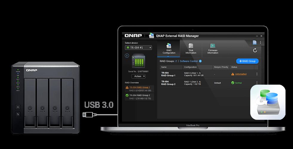 Snel en eenvoudig de capaciteit van uw QNAP of PC uitbreiden