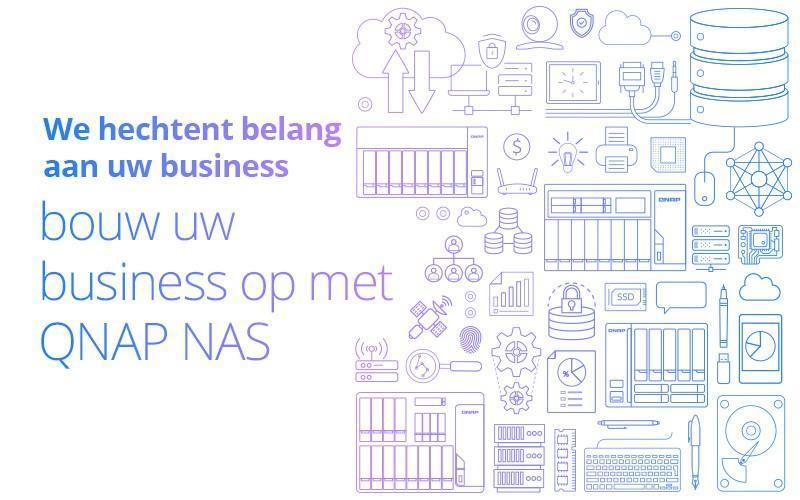 Bouw uw business op met QNAP NAS!