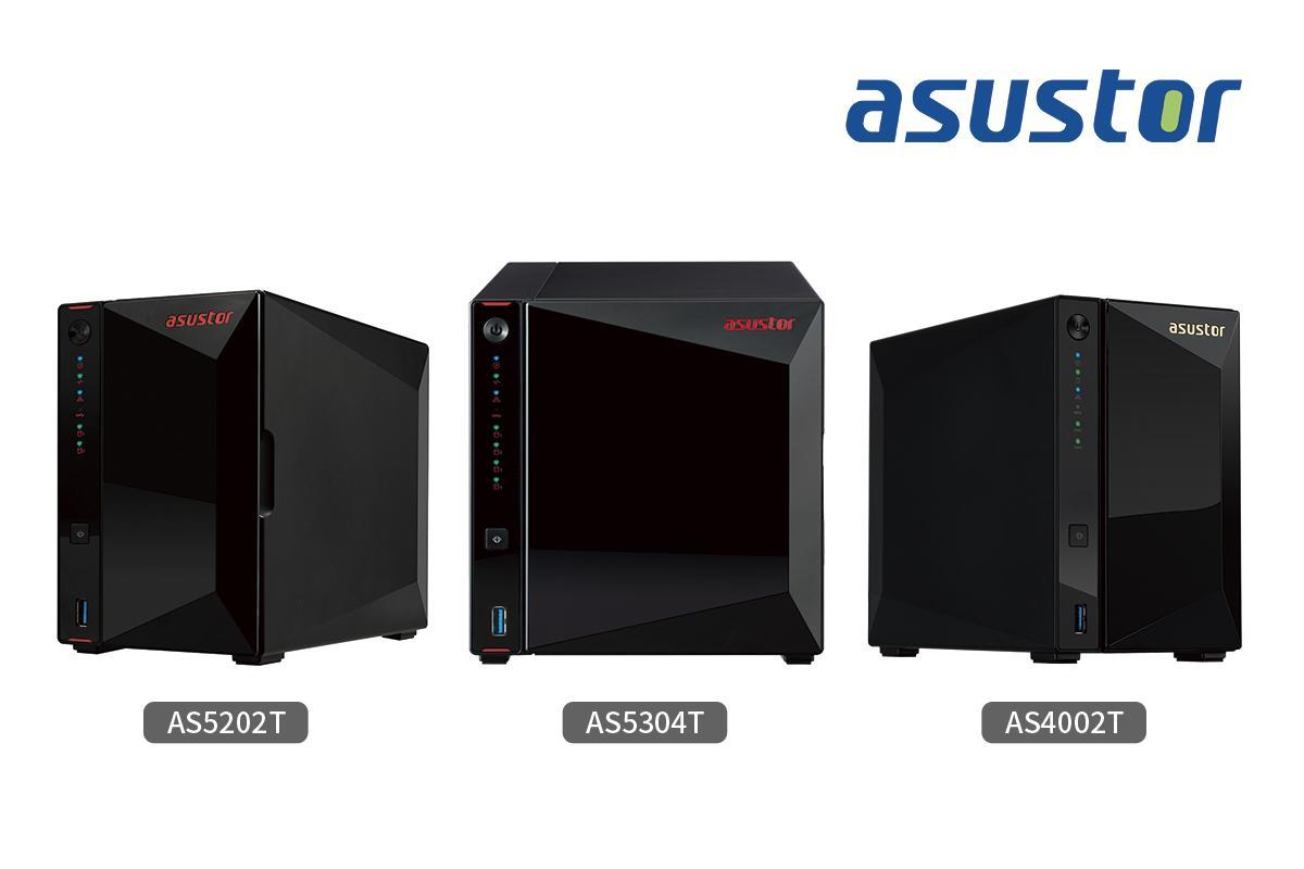 Asustor AS5202T, AS5304T en AS4002T in de top 10 van 'The Best NAS Devices 2019' op PCMag.com